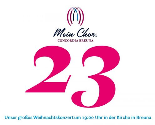 Tag 23 mit MEIN CHOR.Concordia Breuna